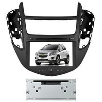 Central Multimidia para Chevrolet Trax 2013 Aikon AK-12080C LCD - Preta