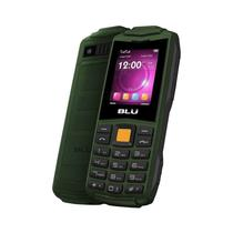 "Celular Blu Flash F010 Dual Sim 1.8"" Radio FM/Bluetooth Verde - Garantia 1 Ano No Brasil"