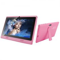 Tablet Powerpack PMD-7718PK 7EQUOT;/AND7.1/Q-Core Cort A7 1.2GH+Suporte-Rosa