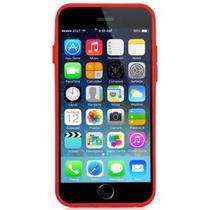 Estojo X-Doria iPhone 6/6S Bumper Clear Vermelho