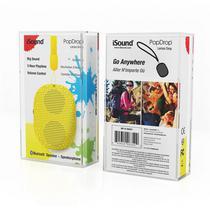 Caixa de Som Isound Popdrop Bluetooth - Amarelo