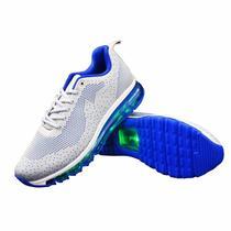 Tenis LED Gqti Running TXL-119-27 NR.41 Cinza