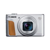 Camera Canon Powershot SX740 HS - Prata (Cargador Europeo)