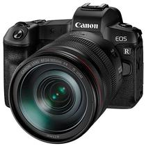 "Camera Canon Eos R 30.3MP 3.15"" + Lente RF 24-105MM F4 L Is Usm Kit - Preta"