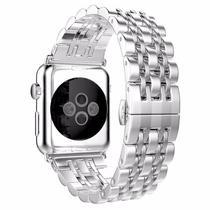 Pulseira 4LIFE de Aco Inoxidavel para Apple Watch - 42MM - Silver