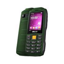 "Celular Blu Flash F030 Dual Sim 2.4"" Super Bateria +Otg Verde - Garantia 1 Ano No Brasil"