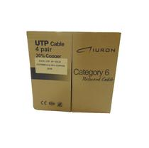 Cabo CAT6 Utp 4P 0,574MM Cca, 30% de Cobre 305M