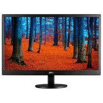 """Monitor LED Ultra Slim AOC E970SWN de 18.5"""" VGA 15 Pinos - Preto"""