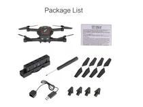 Wltoys Q636 Black 720 P Wifi FPV Drone Dobravel Posicionamento de Fluxo Optico Altitude Ho