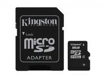 Cartao de Memoria Kingston SD-8GB Micro SD 2 Em 1