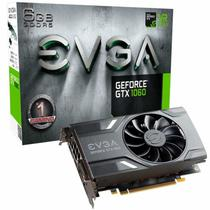 Placa de Vídeo EVGA Nvidia 6GB Geforce GTX 1060 GDDR5 Gaming 06G-P4-6161-KR