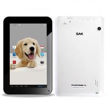 Tablet BAK Ibak Transformers 8GB / Tela 7EQUOT; / Cameras 12MP e 2MP / 512MB Ram / Android 8.1 - Branco
