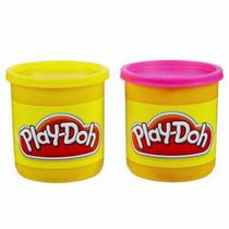 Massageador de Modelar Hasbro Play-Doh Rosa/Amarelo 236582 Potes