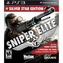 Jogo Sniper Elite VS Silver Star Edition PS3