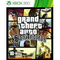 Jogo Grand Theft Auto San Andreas Gta Xbox 360