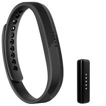Pulseira para Atividades Fisicas Fitbit Flex 2 FB403BK - Preta