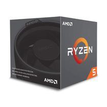 Processador Cpu AMD AM4 Ryzen R5-2600X 4.2 GHZ 19 MB + Solucao Termica