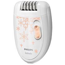 Depilador Philips Satinelle Essential HP-6420/30 com 2 Velocidades Bivolt - Branco