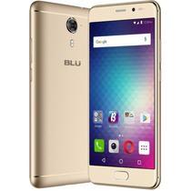 "Smartphone Blu Life One X2 Mini Dual Sim Lte Tela 5.0""FHD 64GB/4GB Cam. 13MP/8MP Dourado"