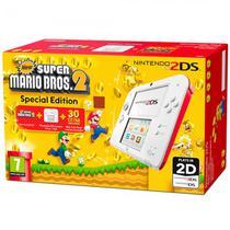 Console Nintendo 2DS Branco Bundle Mario Bros 2