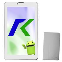 """Tablet Keen A88 8GB / Tela de 7"""" / Cameras 2MP e VGA / com Capa - Prata"""