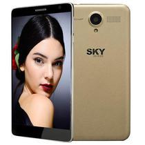 Celular Smartphone SKY Platinium 5.0+ Dual Chip 16GB Dourado