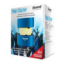 Caixa de Som Isound Fire Glow Azul
