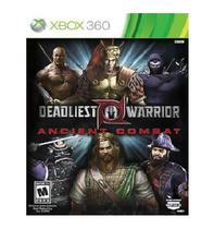 Jogo Deadliest Warrior Ancient Combat Xbox 360