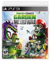 Jogo Plants VS Zombies Garden Warfare PS3
