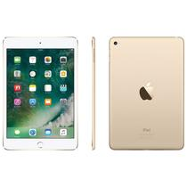 "Apple iPad Mini 4 32GB MNWG2CL Wi Fi + Celular 4G Tela 7.9"" 8MP/1.2MP Dourado"
