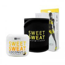 Kit Faixa Sweet Sweat Amarela + Sweet Sweat Coconut 99G