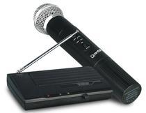 Microfone Profissional Quanta QTMIC-102 Wireless Preto