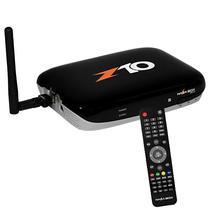 Receptor Fta Nazabox NZ10 Full HD com Wi-Fi/HDMI/USB Bivolt - Preto/Branco