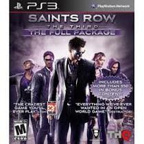 PS3 Jogo Saints Row The Third The Full P