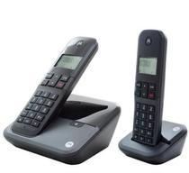Telefone Motorola M3000-2 - Bina - 2 Bases - Bivolt - Preto