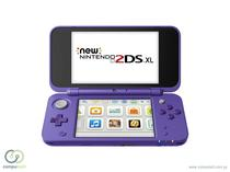 Console Nintendo 2DS XL Purple Silver*