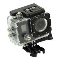 Camera Esportiva 4K Quanta QTSC502 2EQUOT; LCD Wifi Preto