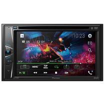 """Reprodutor de DVD Automotivo Pioneer AVH-G215BT de 6.2"""" com Bluetooth/USB - Preto"""