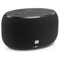 Caixa de Som JBL Link 300 com Bluetooth/Wi-Fi/Chromecast Bivolt - Preto