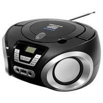Aparelho de Som Megastar MP-1842BT 1.200 Watts P.M.P.O com Bluetooth/FM/USB Bivolt - Preto/Prata