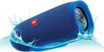 Caixa de Som JBL Charge 3 - USB - Bluetooth - A Prova D'Agua - Azul