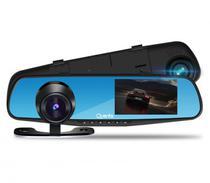 Camera DVR Espelho Retrovisor Quanta QTCDR600 Ultra HD 4.3