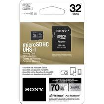 Cartao de Memoria SD Micro Sony 32GB Classe 10 c/ Adaptador