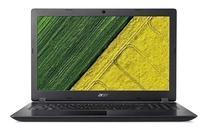 Notebook Acer A315-51-580N i5-7200U/ 4GB/ 256SSD/ 15P/ W10 Preto Novo