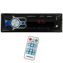 Toca Radio Automotivo B.Buster BB-6514LC com Leitor SD/USB/Auxiliar - Preto