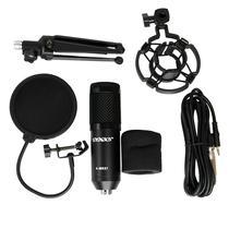 Microfone Satellite A-MK07 - para Streamer/Youtuber - 3.5MM - Preto