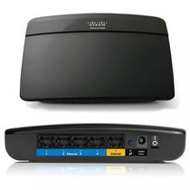 W. AP Router Linksys 4P E1200-BR 300MBPS
