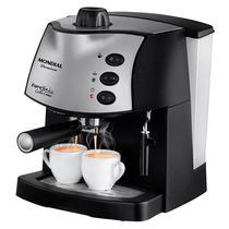 Cafeteira Mondial Espresso Coffee Cream C-08 Premium 800 Watts 127V~60HZ - Preto/Prata