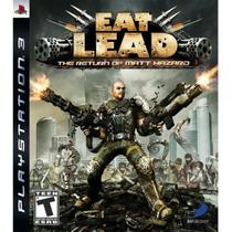 Jogo Eat Lead Return Of Hazard PS3