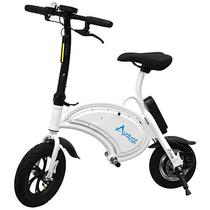 Bicicleta Eletrica Audisat M-001 25 KM/H para Ate 120 KG - Branca/Preta